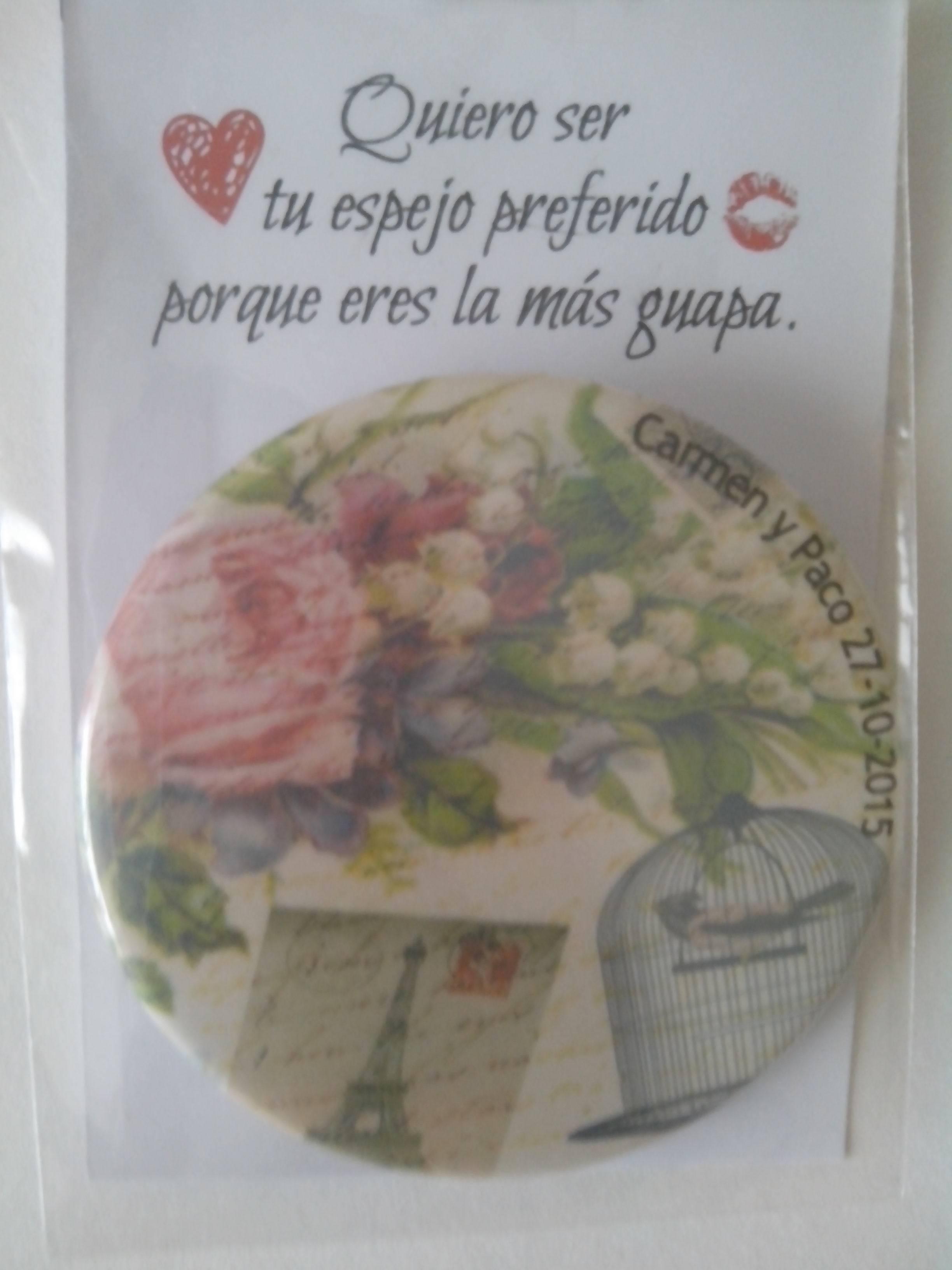 Presentación Espejo Vintage