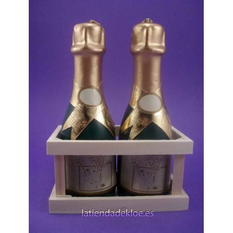 Velas Botella Champagne