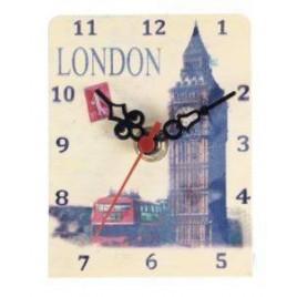Reloj Metálico Travel london