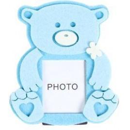 Portafotos OSITO BABY Azul