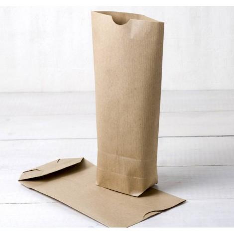 Bolsa papel kraft con base12x22,5X5cm.(preciox50u.)