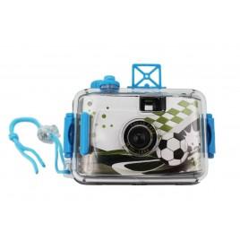 Camara de fotos acuática futbol