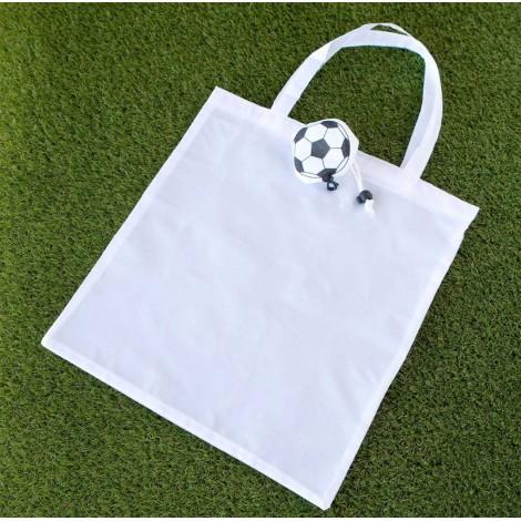 Bolsa plegable pelota de fútbol 41x68cm., min.6 P.GOLOSO