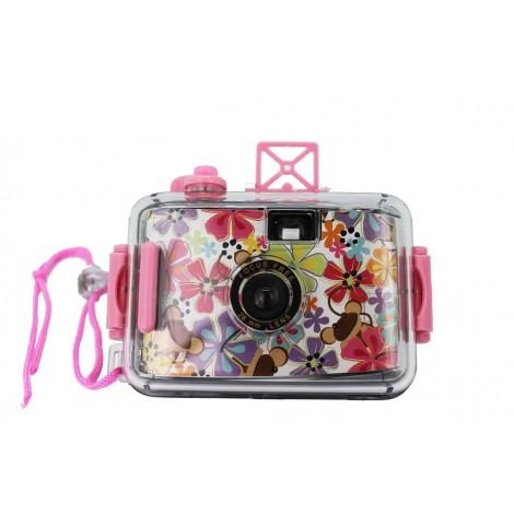 Camara de fotos acuática happy girl