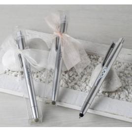 Bolígrafo CORAZONES p.táctil y led en estuche stdo. min2