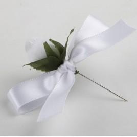 Prendido flor blanca, min.25
