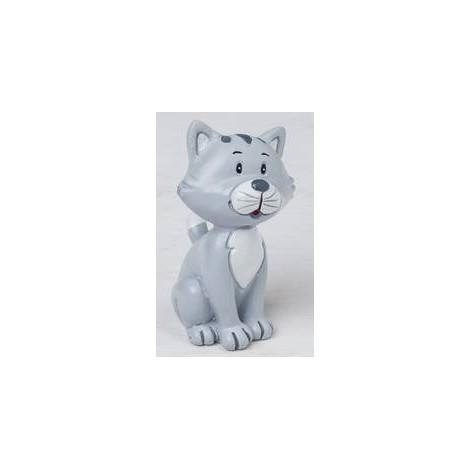 Figura poliresina gatito Pop&Fun family 5,5cm.