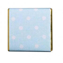 Napolitana choc. leche topos azul, caja aprox.150u.*