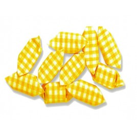 Caramelo frutas cuadros amarillo 1Kg*