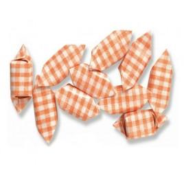 Caramelo frutas cuadros naranja 1Kg*