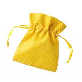 Bolsa topitos amarilla 10x12cm. min.24