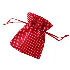 Bolsa topitos roja 10x12cm. min.24