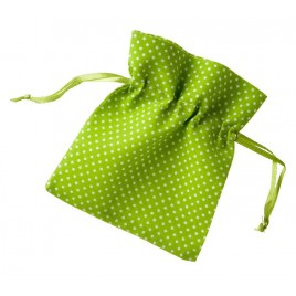Bolsa topitos verde 10x12cm. min.24