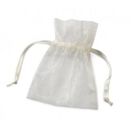 Bolsas cristal marfil 10x12,5cm. min.24