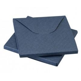 Caja azul 8x8x0,5cm min.25