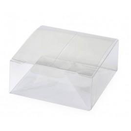 Estuche transparente 5,6x2,5x5,6cm. min.25