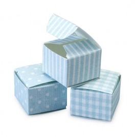 Estuche T/R/C azul 3,5x3,5x2,5cm min.24