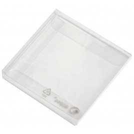 Estuche transparente 7x7x0,7cm. min.25