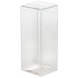 Estuche transparente 4x10,5x4cm. min.25