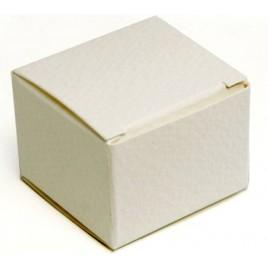 Estuche blanco 3,5x3,5x2,5cm min.25