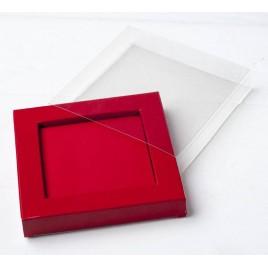 Funda acetato caja marco 10,2x1,6x10,2cm, min.25