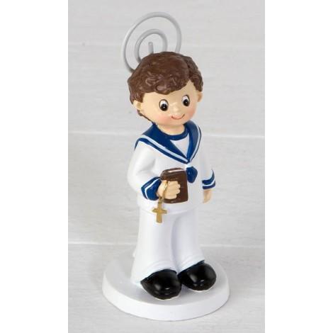 Portafoto niño marinero con Biblia 10cm.min.6