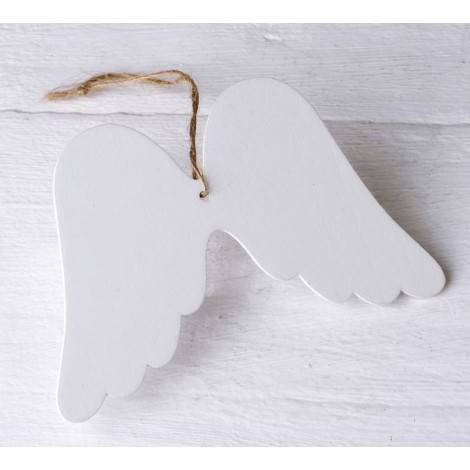 Colgante madera alas Ángel de la Guarda 11x7x0,2cm min.12