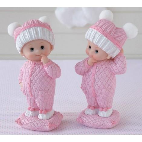 Figura pastel bebé NIÑA ,stdo. min.2