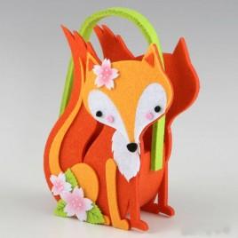 Cestita The Little Fox grande 15x22x6,8cm (incl. asas)