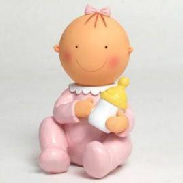 Figura pastel-hucha Pita sentada biberón 15cm