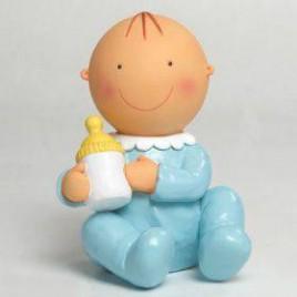 Figura pastel-hucha Pit sentado biberón 15cm