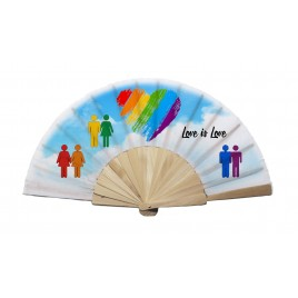 Abanico Orgullo Gay 07