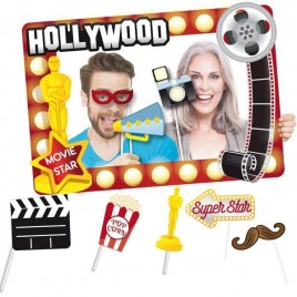 MARCO PHOTOCALL HOLLYWOOD CON ACCESORIOS