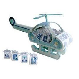 Helicoptero Baby Azul