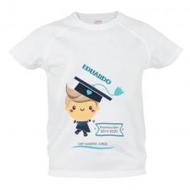 Camiseta graduados talla 4-5