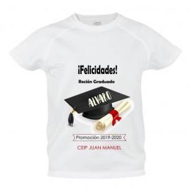 Camisetas Felicidades Graduacion