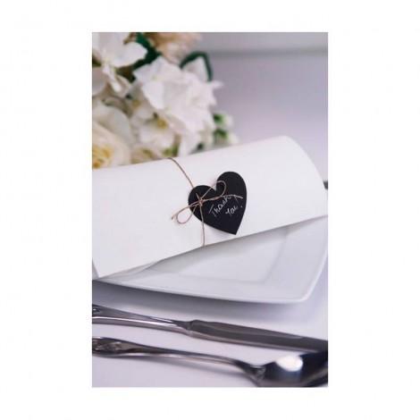 Pack 10 tarjetas corazon