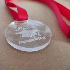Medalla Graduados Metacrilato