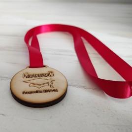 Medalla Graduados Contrachapado