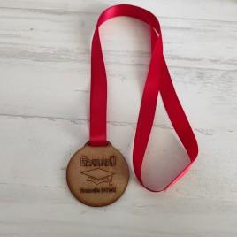 Medalla Graduados MDF