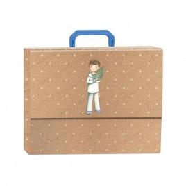 Pack libro de firmas con maletín Marinero