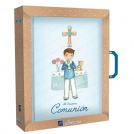 Pack libro de firmas con maletín Niño en altar