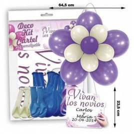 Kit Globos Novios