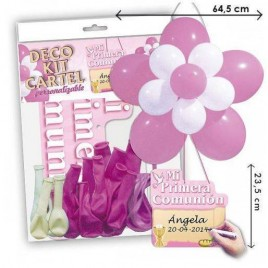 Kit Globos Comunion niña