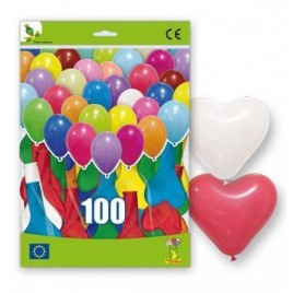 100 Globos Corazon XL