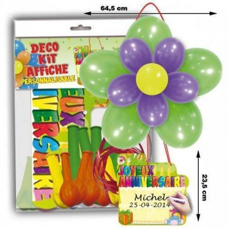 Kit Globos Fiesta