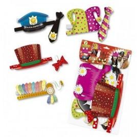 Pack sombreros Fiesta 7 piezas