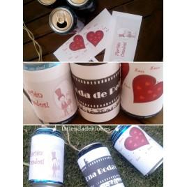 Dibujos para latas Refrescos