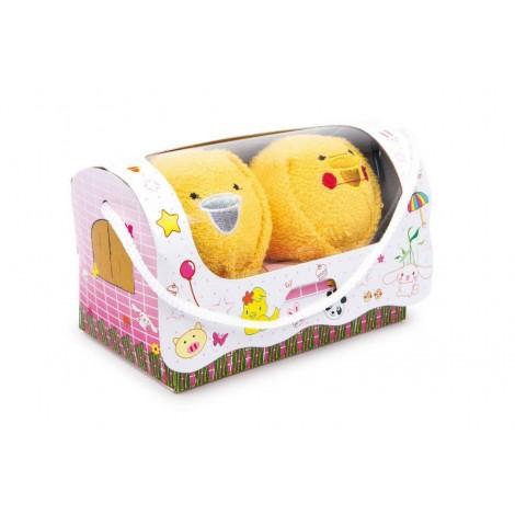Toallitas Pollitos en su caja