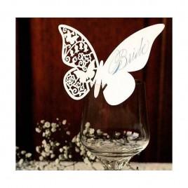 Mariposas Marcasitios (pack 12 unidades)